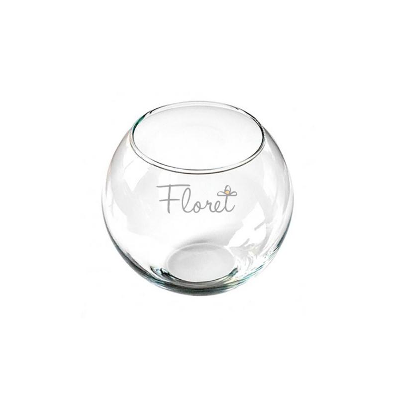 Круглая ваза 0,8 л. (аквариум, флорариум, террариум)